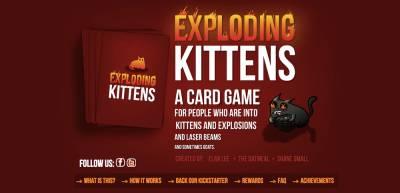 ExplodingKittens Kickstarter