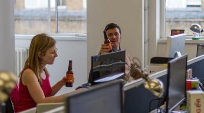 DeskBeers Quenches Thirsty Offices
