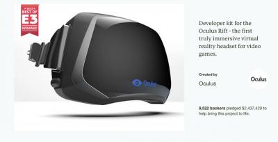 Oculus Rift  Step Into the Game by Oculus %E%% Kickstarter e