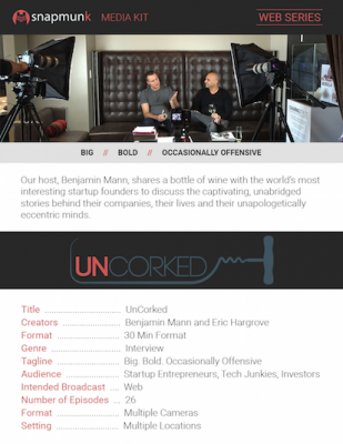 SNAM MEDIA KIT UNCORKED REDUCED