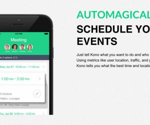 Meet Kono's AI Scheduling App