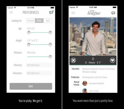 The League of Our Own: 'Tinder For Elites' Dating App Going Strong