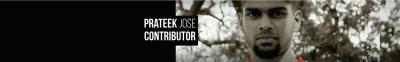 Prateek Jose Author Page Image
