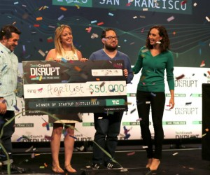 Green Rules The Day at the TechCrunch Disrupt Battlefield