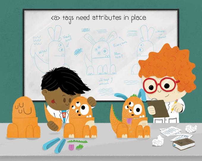 Children's Book on HTML