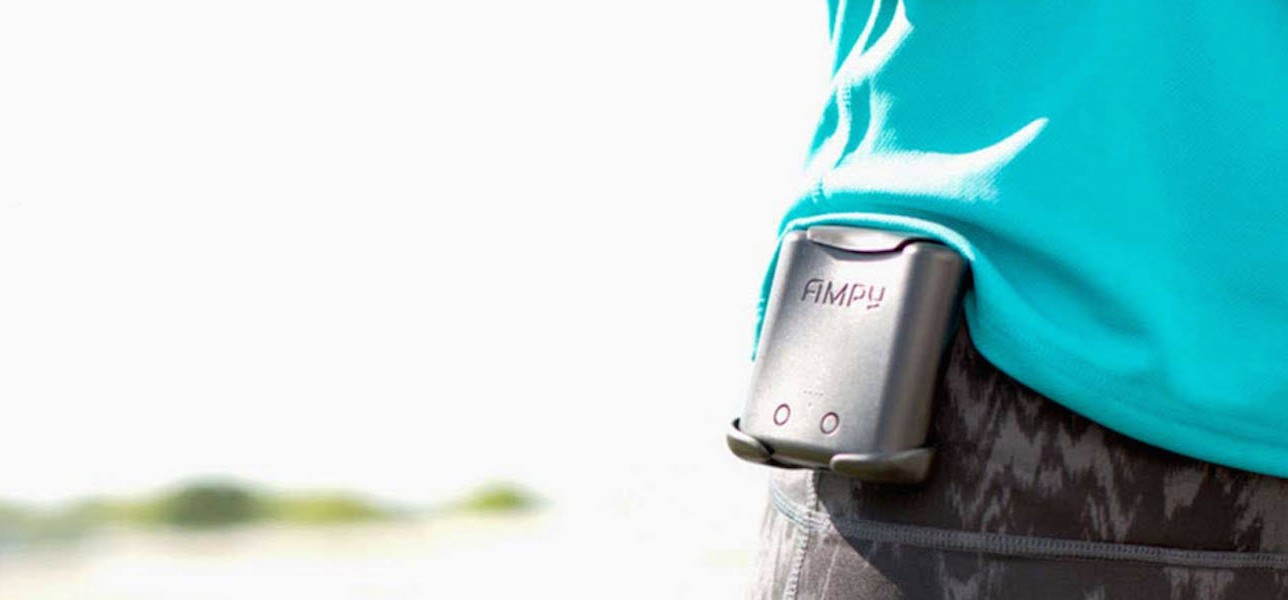 Ampy Rescues Your Smartphone Battery While You Move