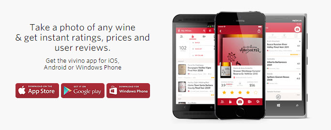 Vivino Wine Photo and Reviews App