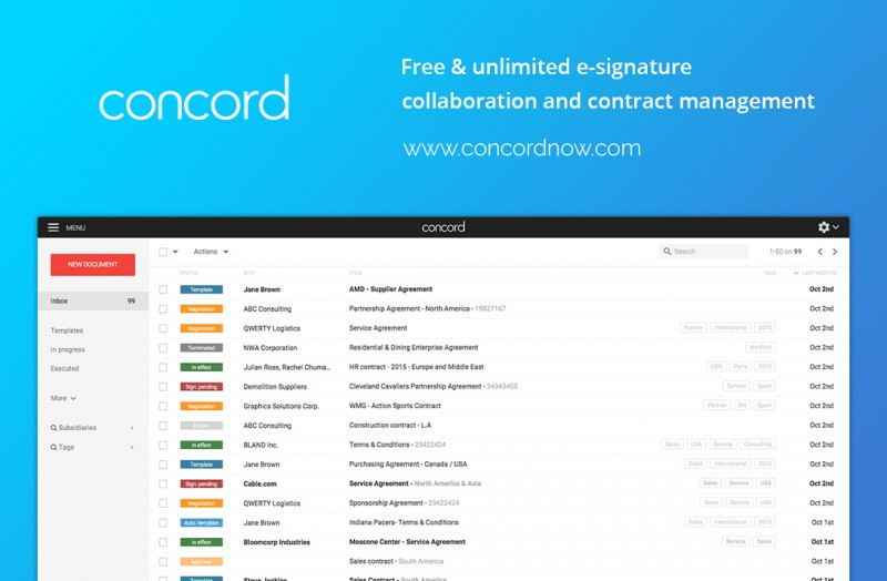 Concord Contracts