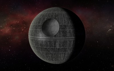 death star from Star Wars Force Awakens