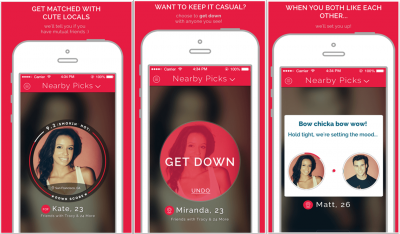Down Hookup App Screenshot SnapMunk