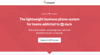 Ottspott: The lightweight business phone system for teams addicted to Slack