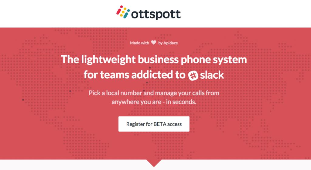 Ottspott Lets You Make Free Calls Through Slack, Even International Ones
