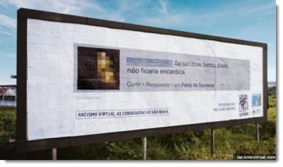 Criola Racists Billboards