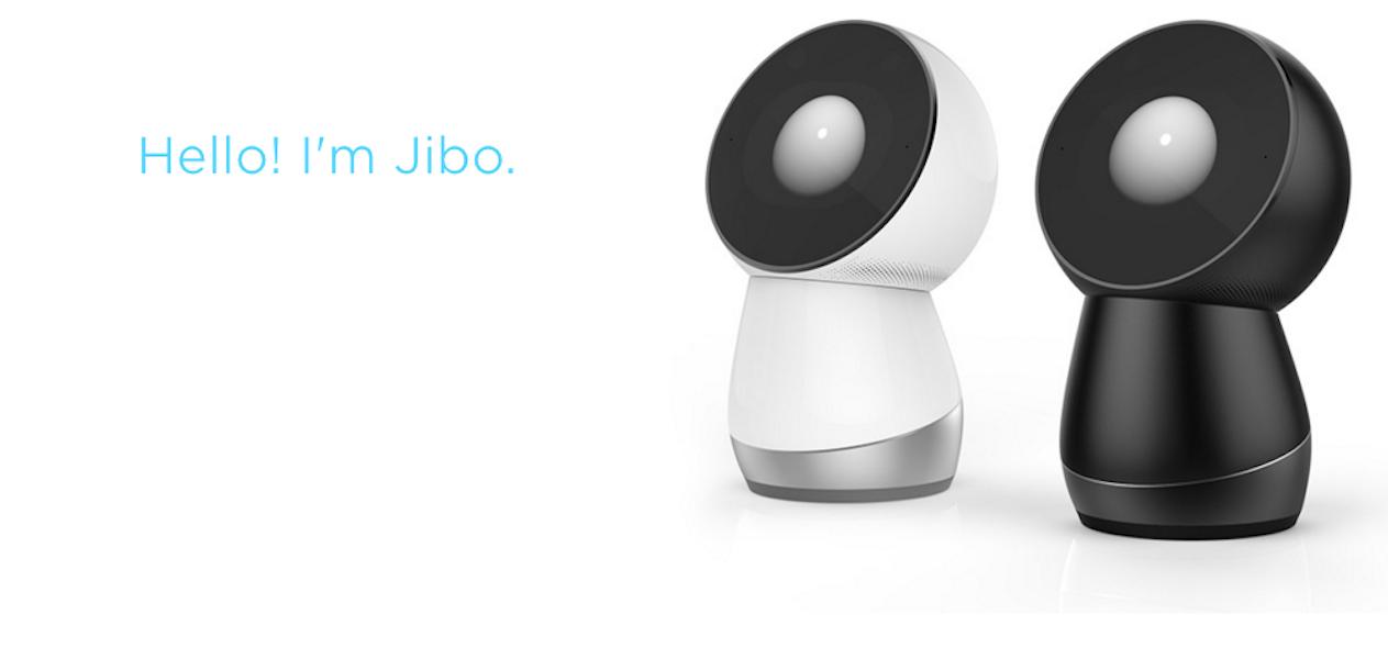 Jibo social robots