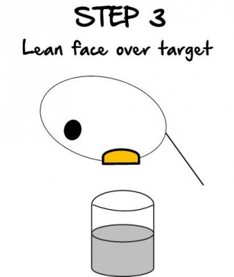 Step:Leanfaceovertarget