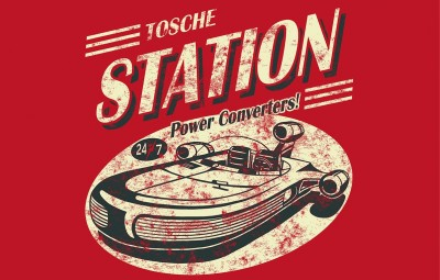 Star Wars Tosche Station Power Converters sign
