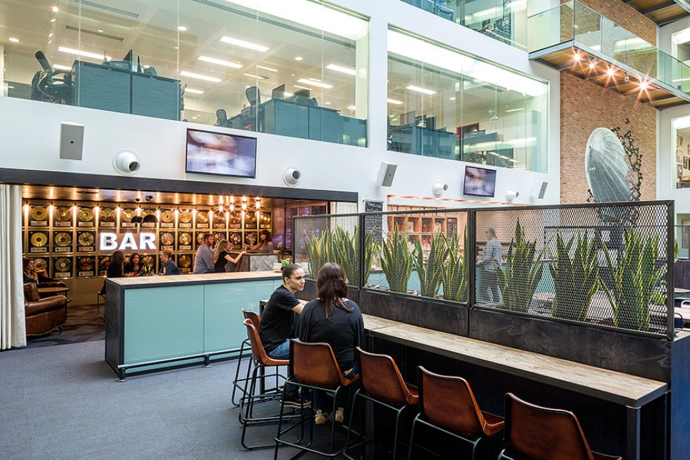 Warner Music UK Bar in Offices Codeless Conduct