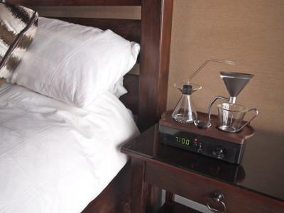 coffee maker alarm