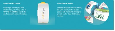 Child Angel tracking device