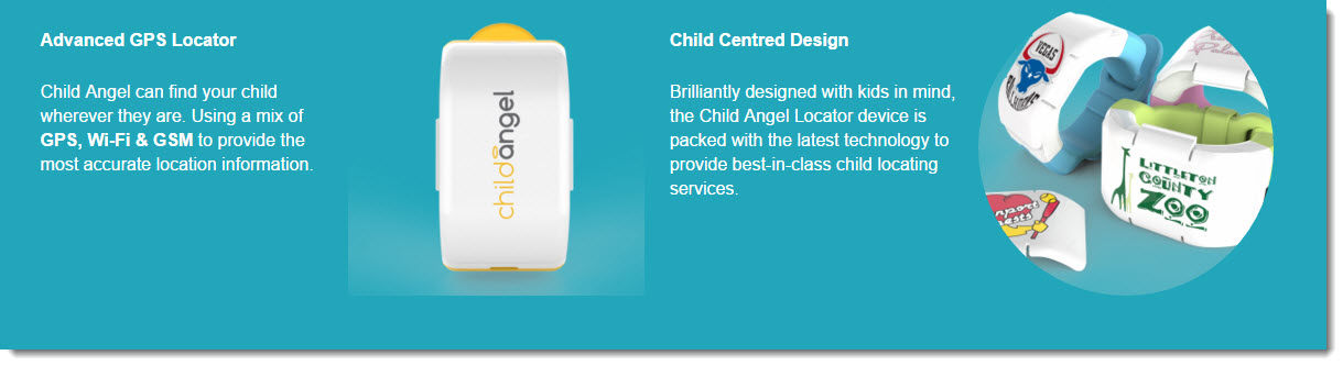child angel child tracking CES 2016