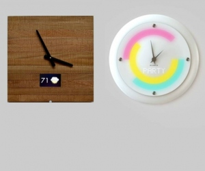 smart clocks from Ingrein and Glance