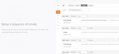 automated email campaign