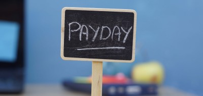 Sign saying Payday