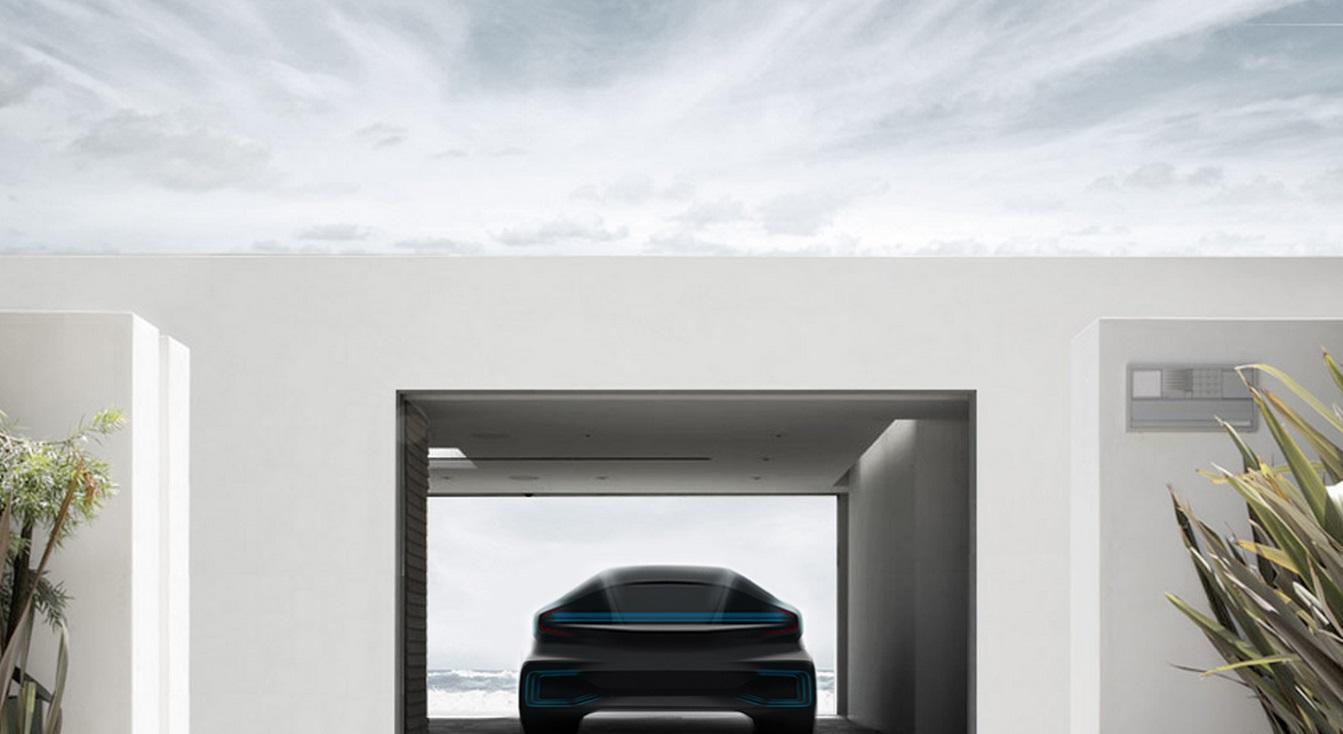 faraday future car snapmunk CES 2016