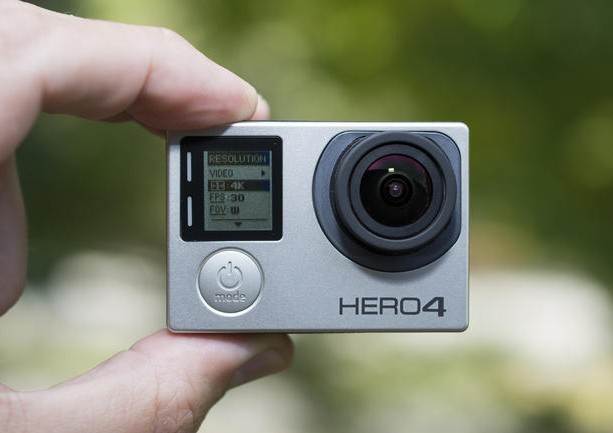 GoPro Hero4 camera, which may integrate with Periscope