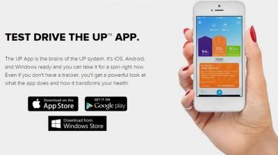 jawbone app snapmunk