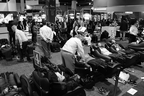 massage chairs at CES 2016
