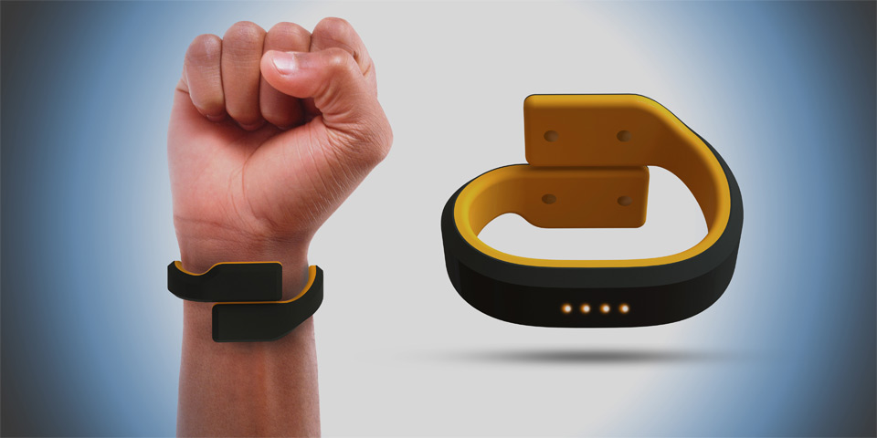 Pavlok wearable wristband to help break bad habits