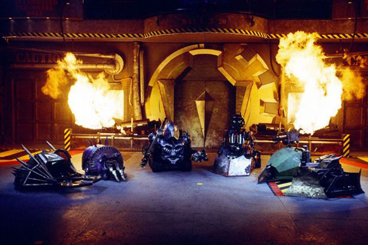 reboot of robot wars show