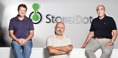 Staff of StoreDot debuted at Eureka Park