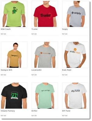 sttartup startp tshirts monthly box