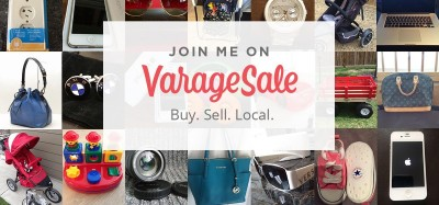 join me on varagesale local classifieds app