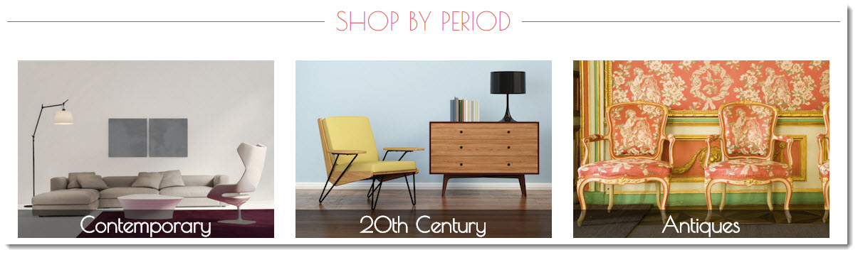 luxury furniture by period on Vinterior