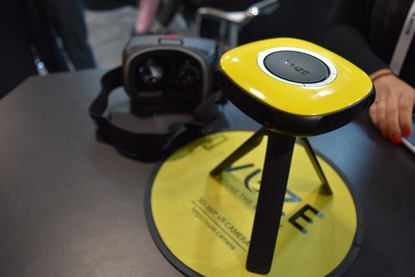vuze virtual reality camera