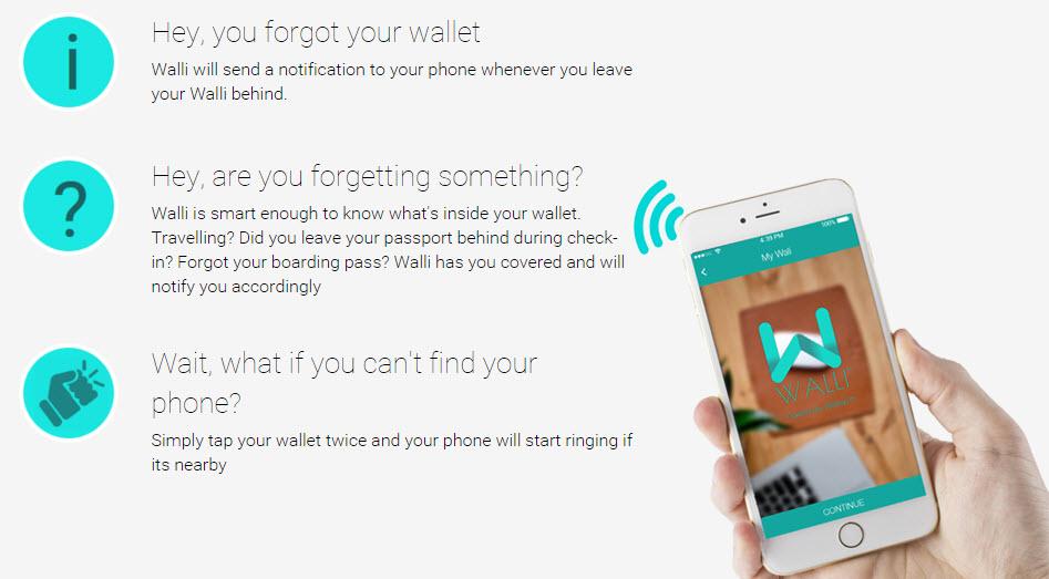 walli smart wallet functionality