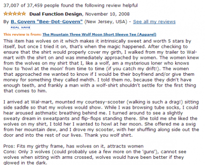 wolf shirt best amazon reviews