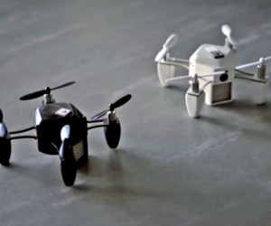 zano tiny flying helicopter drone kickstarter that lets users take selfies capture hd video