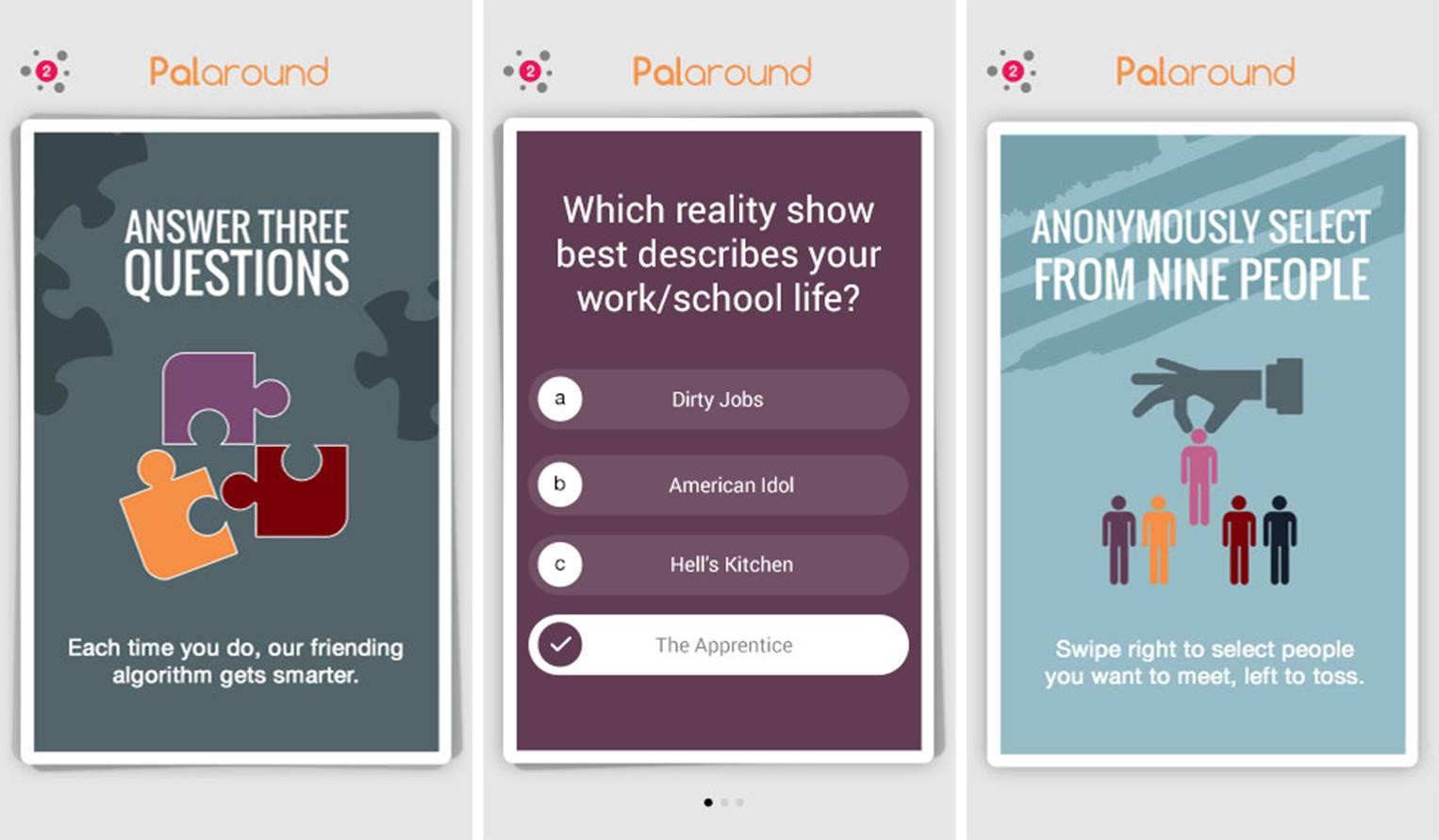 PalAround screenshots
