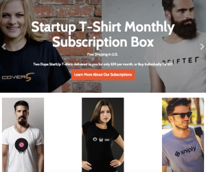 Sttartup Lets You Discover Startups By Sending You Their Awesome TShirts Every Month