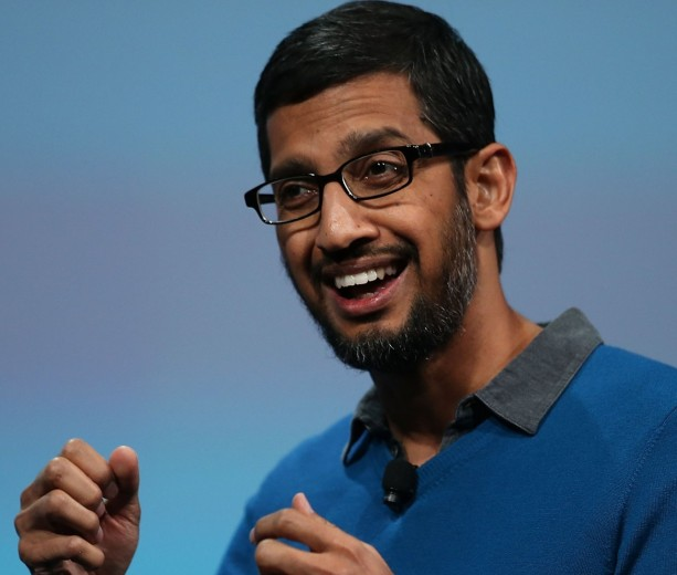 Sundar Pichai of Google