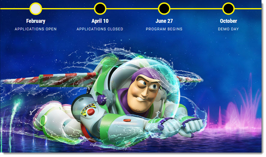 buzz lightyear disney accelerator