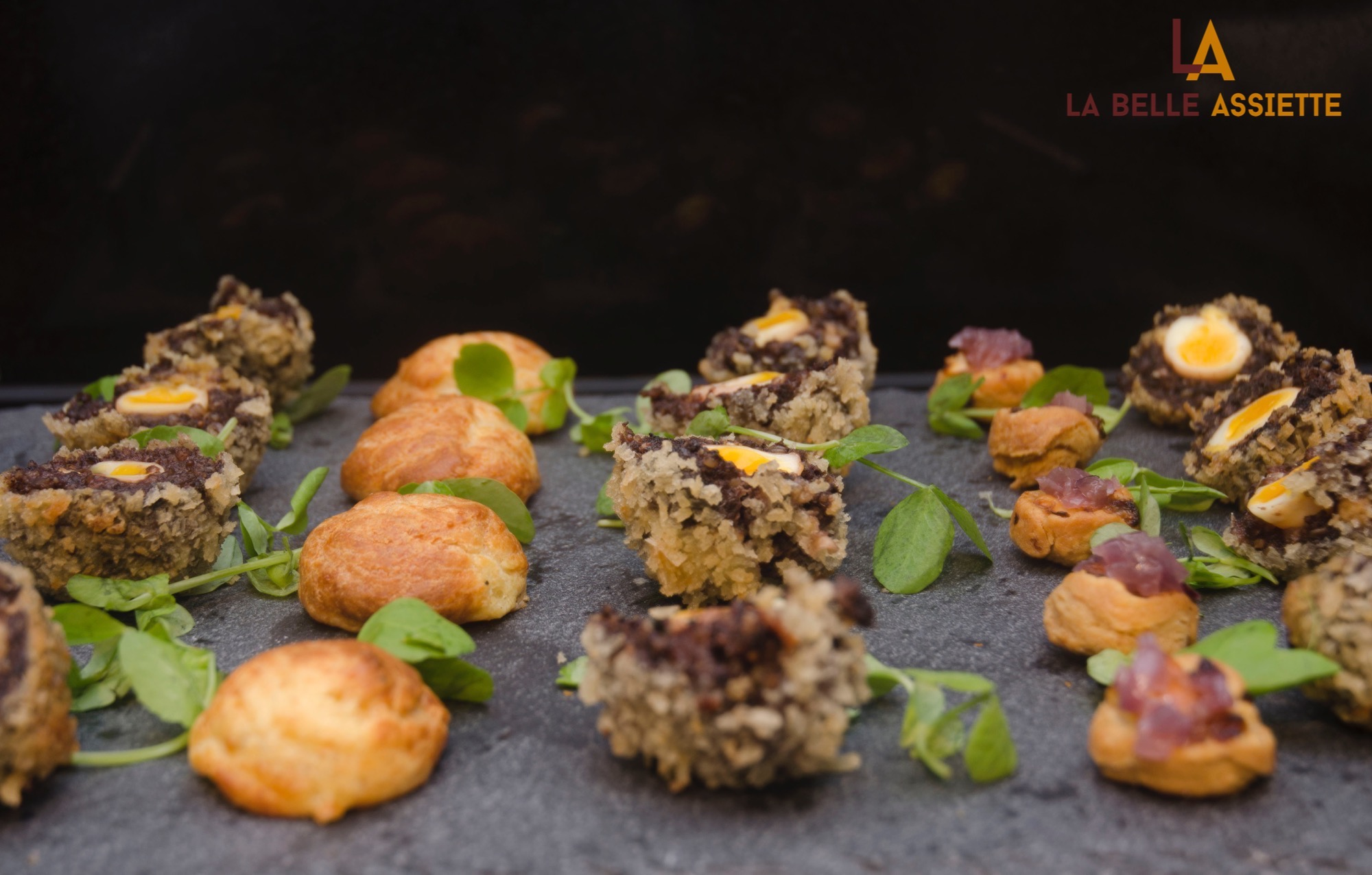 food from on demand chef service, La Belle Assiette catering