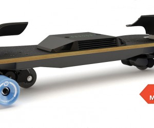 electronic skateboard from Leiftech
