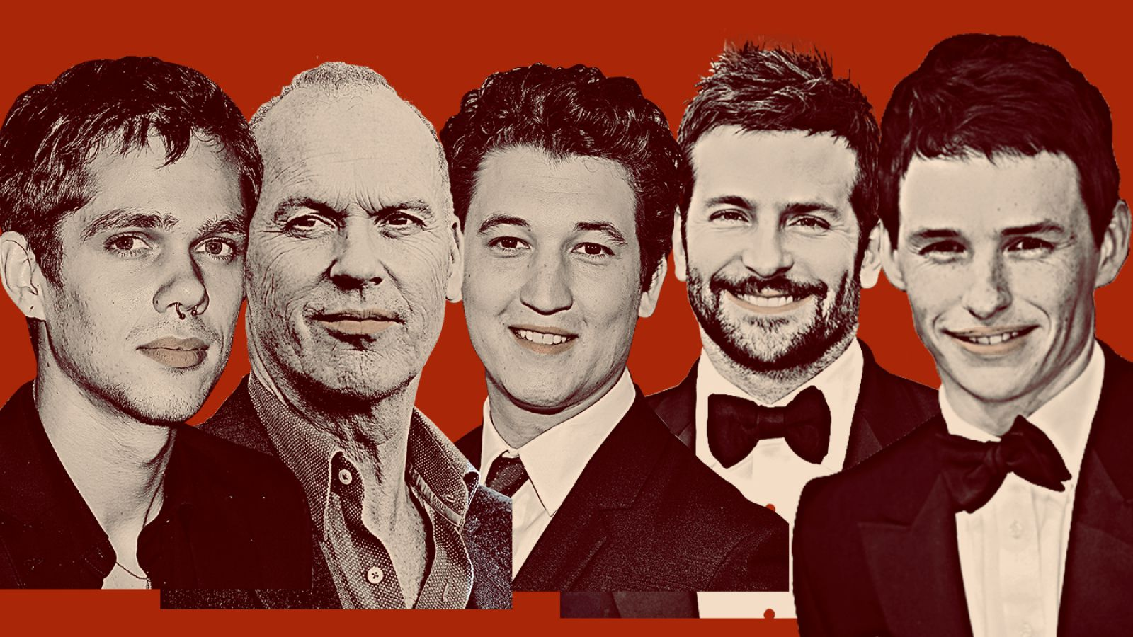 white male actors from Hollywood