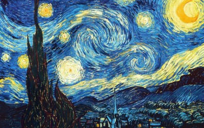 the starry night van gogh snapmunk large