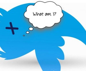 dead Twitter bird asking what am I